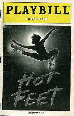 PLAYBILL: Hot Feet - Hilton Theatre, NYC (2006) conceived by Maurice Hines