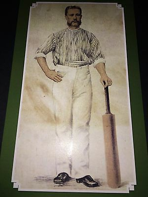 Charles Bannerman cricket card from a book launch