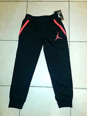 NWT Nike JUMPMAN Boys Black Pockets Athletic Pants size 5