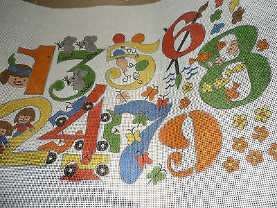 """Kappie Originals - """"lets Count"""" - Tapestry Canvas  - New"""