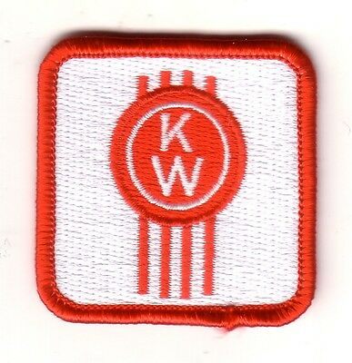 Kenworth Small Embroidered Patch