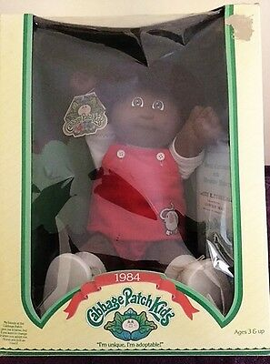 Vintage Cabbage Patch Kids 1984  - Coleco - All Original - Aa - Nrfb - Rare