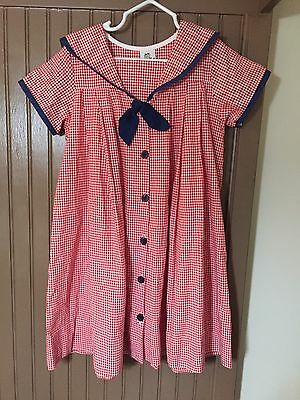 Bailey Boys Girl's Red White And Blue Dress Size 5