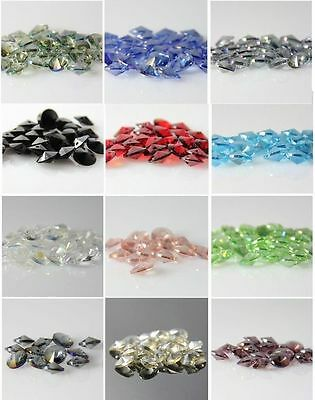16pcs 8mm flying saucer shape Swaro-element crystal beads