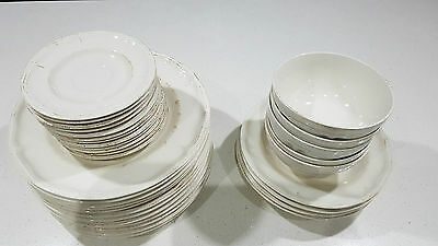 Set of Plates/Saucers/Bowls