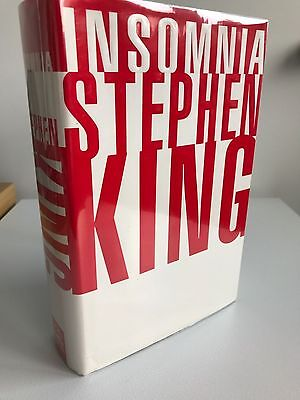 Insomnia by Stephen King - SIGNED / INSCRIBED 1st US Edition