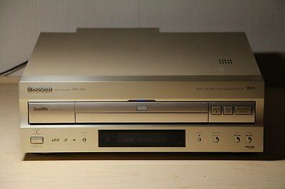 Pioneer Japan DVD Laserdisc LP Player DVL 909 Gold Near Mint Working Japanese