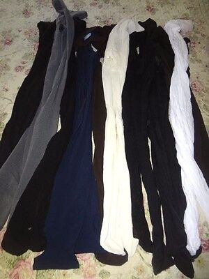Nylon Pantyhose Stockings Tights  Lot of 12