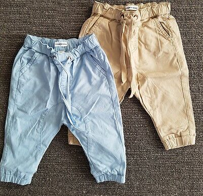 COUNTRY ROAD Baby Boy 6-12 months Chino x 2 pieces
