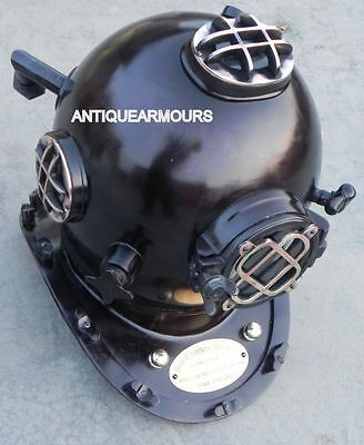 Scuba Diving Helmet US Navy Mark V Full Size Diving helmet Vinatage