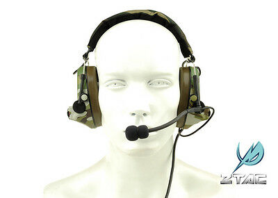 Z Tactical COMTAC II Noise Reduction Headset (Multicam) Z041-MC