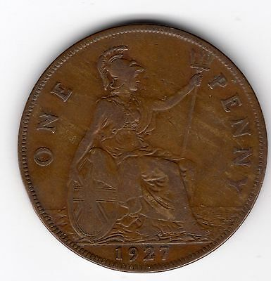Great Britain George V Penny 1d 1927 R36839