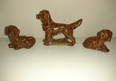 Wade Whimsies Red Setter Family