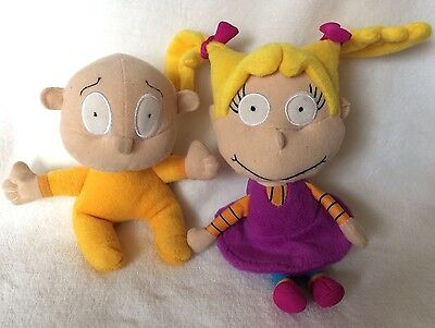 Rugrats Angelica & Dill Pickles Small Plush, 2001 Gosh/Viacom