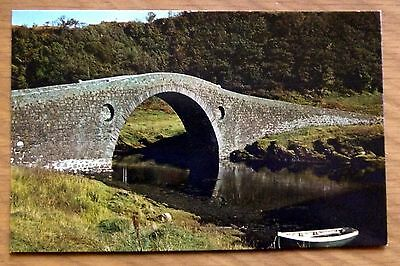Postcard: Clachan Bridge, Easdale, The Only Bridge  Over the Atlantic - Unposted