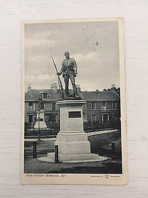 Boer War Memorial Ayr Scotland