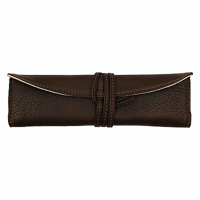 Pilot Roll Pen Case (for one) [dark brown] Cowhide Leather PSR101DBN #R532 F/S