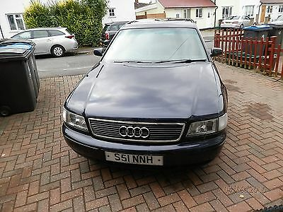 AUDI A8 with an unusual  Reg-number (S51 NNH)