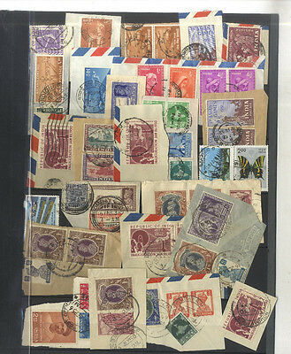 Lot 53 Timbres Indes India Asie Asia