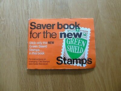 Green Shield Stamps Saver Book for the New Stamps (Full)