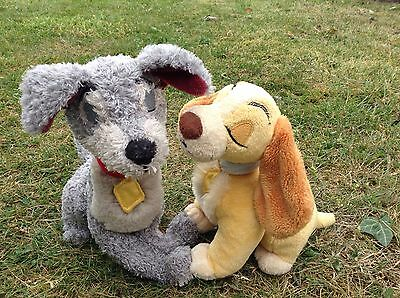 Lady & The Tramp Soft Toy Walt Disney Collectible