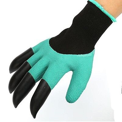 High Quality Planting Garden Gloves 4 ABS Claws Gardening Plastic Gloves New