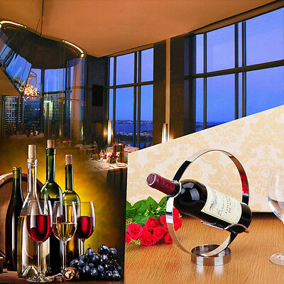 Durable Bottle Wine Rack Holder Storage Stainless Steel Single Wine Bar Kitchen