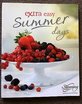 Slimming World Book. Extra Easy Summer Days. FREE FAST POSTAGE!!