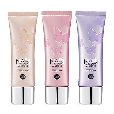 [HOLIKA HOLIKA] NABI Cream 3 Type 50g / for dry skin & all skin & oily skin type