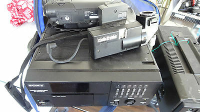 sony tuner tt3000ub sony power pack sharp video camera hitachi 6 beta tapes