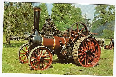 Postcard of a Steam Traction Engine Trudy Jane 1910 approx 1969 R35822