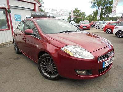 FIAT BRAVO ACTIVE 16V 90, Red, Manual, Petrol, 2008