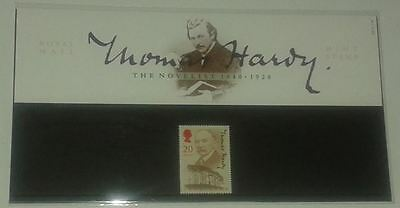1990 GB Commemorative Stamps in Presentation Pack - Thomas Hardy