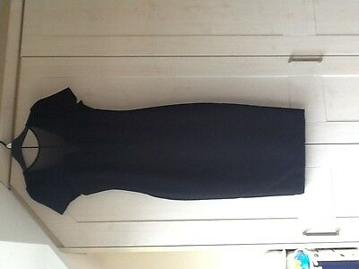 BNWT New Black Lined Dress Size 6 RRP £25  F&F Ideal for work