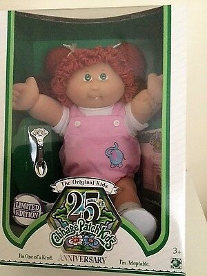 CABBAGE PATCH KIDS 25th ANNIVERSARY DOLL - LIMITED EDITION - MINT IN BOX