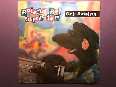 "Roland Rat Superstar - Rat Rapping (7"" single) picture sleeve RAT 1"
