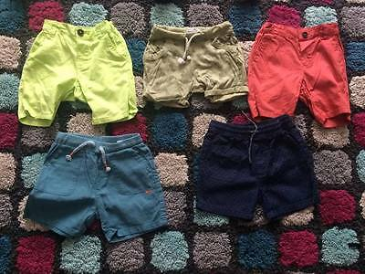 Boys shorts 9-12, 12-18 Zara h&m