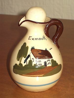 Vintage  Babbacombe Torquay Pottery - Exmouth  - Vinegar Bottle