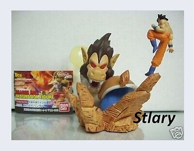 FIGURINE Dragon ball Z Imagination Gashapon Figure 5 Sangoku vs Vegeta GOKU dbz