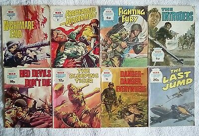 10 x war picture library comics
