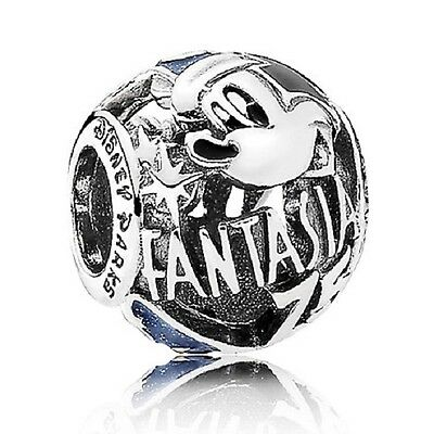 New Genuine 925 Sterling Silver PANDORA DISNEY Mickey Fantasia 75th Anniversary