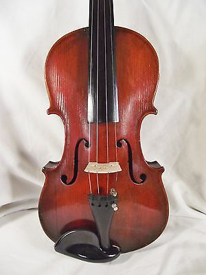 k6. ANTIQUE FULLSIZE VIOLIN. GOOD PLAYING ORDER. GERMAN c1860. VERY GOOD COND.