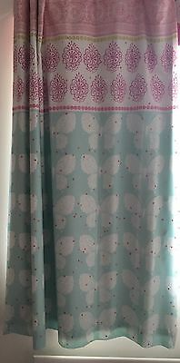 """Next Girls Butterfly Bedroom Curtains 46""""x54"""" 117x 137 cms Blackout Pencil Pleat"""