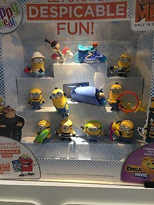 McDonalds Despicable Me 3 2017 Full Set Of 12 Toys BNIB (Despatched End Of July)