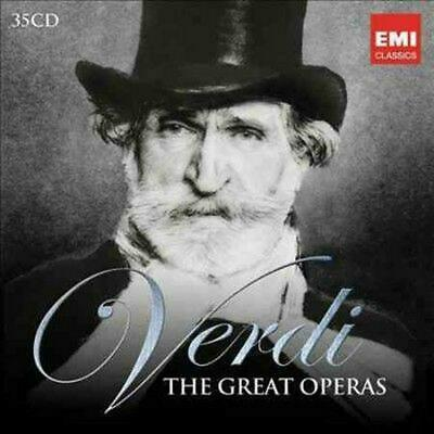 The Great Operas - Verdi,G. Compact Disc Free Shipping!