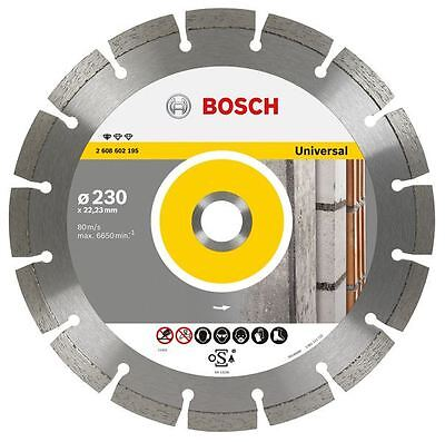 "Bosch 230mm 9"" Diamond Cutting Brick Block Concrete Disc Blade DeWalt Makita"