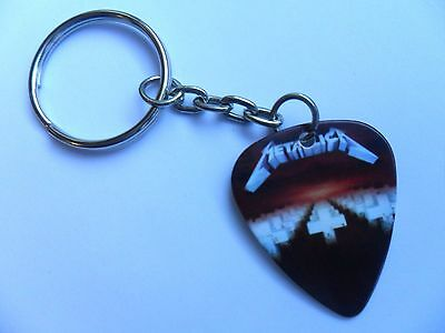 METALLICA  Guitar Pick  Keyring  Fifteen to Choose  Double Sided