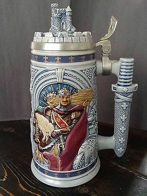 Avon  Knights Of The Realm Beer Stein - 1995 (Mint Conditon Collectible)