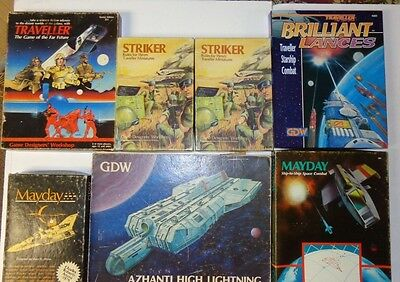 Traveller GDW RPG Pick Your Own Boxed Set Lot Must Read $60-70 each
