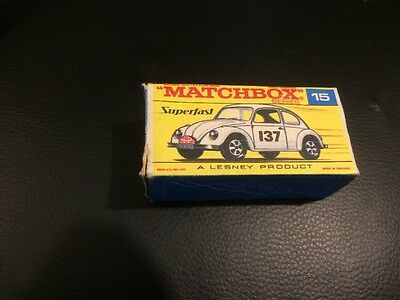 Matchbox Lesney Superfast No15 Volkswagen Monte Carlo Nmint Rare